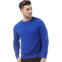 Duck and Cover Mens Portofino Crew Neck Jumper Ultra Marine