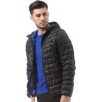Duck and Cover Mens Tysons Nylon Quilted Padded Jacket Black