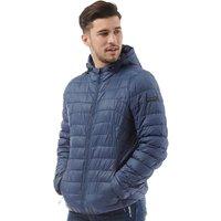 2df9a2f0d22 ... Mens Tysons Nylon Quilted Padded Jacket Dark Denim · MandM Direct offer