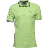 Duck and Cover Mens Acute Polo Apple