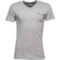 Duck and Cover Mens Share T-Shirt Light Grey Marl