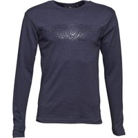 Duck and Cover Mens Baldwin Long Sleeve T-Shirt Glacier Marl