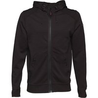 Duck and Cover Mens Helm Double Faced Zip Through Hoody Black