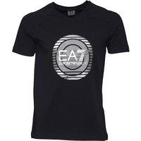 EA7 Mens T-Shirt Dark Blue