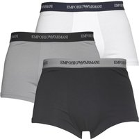 Emporio Armani Mens Three Pack Trunks Multi
