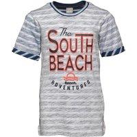 Bench Boys Reverse Stripe T-Shirt Blue