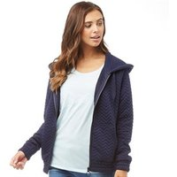 Bench Womens 3-D Stitched Hoody Jacket Blue