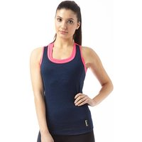 ELLE SPORT Womens Performance Support Vest Blueberry Duo/Pink Rage/Apple Sour