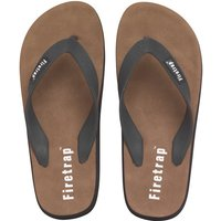 Firetrap Mens Beach Sandals Black