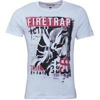 Firetrap Mens Frey T-Shirt White