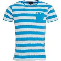 Firetrap Mens Lucas T-Shirt Cendre Blue