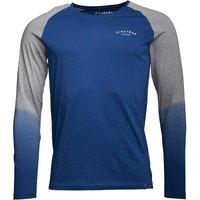 Firetrap Mens Fade Long Sleeve Raglan T-Shirt Cobalt