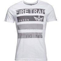 Firetrap Mens Jorge T-Shirt White