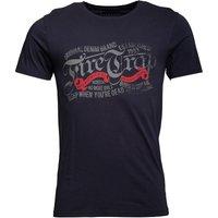 Firetrap Mens Rapp T-Shirt Indigo