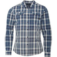 Firetrap Mens Snipper Long Sleeve Shirt Indigo