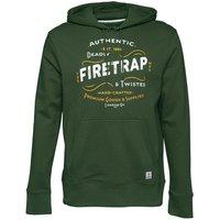 Firetrap Mens Townson Hoody Rifle Green