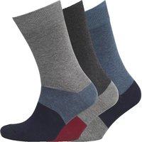 Fluid Mens Three Pack Socks Multi
