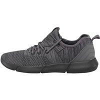Fluid Mens Knit Pumps Black/Grey