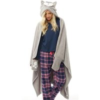 'Fluid Womens Novelty Slanket Grey