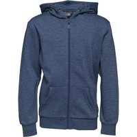 Fluid Boys Hoody Denim Blue Marl