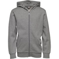 Fluid Boys Hoody Mid Grey Marl