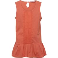 Board Angels Girls Sleeveless Top Coral