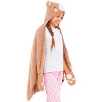 'Board Angels Girls Slanket Brown