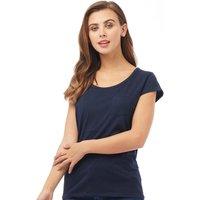 Board Angels Womens Pocket T-Shirt Navy