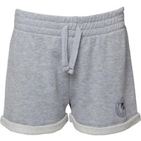 Board Angels Girls Fleece Shorts Grey Mid Grey Marl