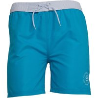 Board Angels Girls Plain Board Shorts Turquoise