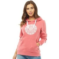 Board Angels Womens Hoody With Chest Print Desert Rose