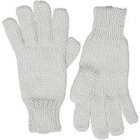 Board Angels Womens Knitted Gloves Ecru