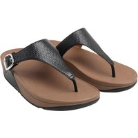 FitFlop Womens The Skinny Sandals All Black