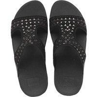 FitFlop Womens Carmel Slide Sandals All Black