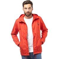 Farah Vintage Mens Partridge Hooded Jacket Lava Red