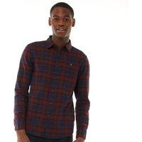 Farah Vintage Mens Eader Casual Shirt Farah Red