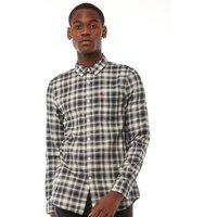 Farah Vintage Mens McIntyre Slim Fit Shirt True Navy