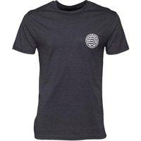 Friend Or Faux Mens Strauss T-Shirt Navy Marl/White