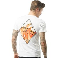 Friend Or Faux Mens Flock T-Shirt White