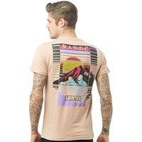 Friend Or Faux Mens Grace T-Shirt Pink