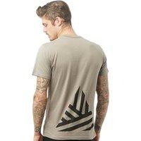 Friend Or Faux Mens Hales T-Shirt Steel Grey/Black