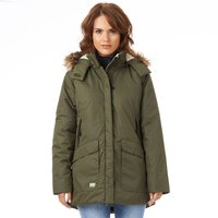 Helly Hansen Womens Aiken Parka Olive Night