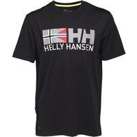 Helly Hansen Mens Rune T-Shirt Black