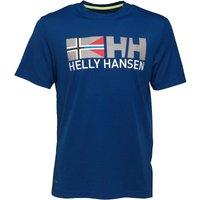 Helly Hansen Mens Rune T-Shirt Racer Blue