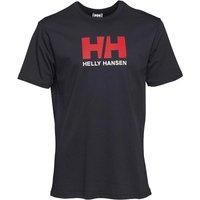 Helly Hansen Mens Logo T-Shirt Navy
