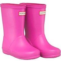 Hunter Infant Girls First Classic Wellington Boots Lipstick