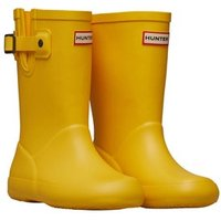 Hunter Girls Flat Sole Wellington Boots Sunlight
