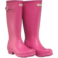 Hunter Original Girls Wellington Boots Fuchsia