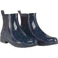 Hunter Womens Refined Constellation Print Chelsea Boots Midnight