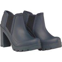Hunter Womens Original High Heel Shoes Navy